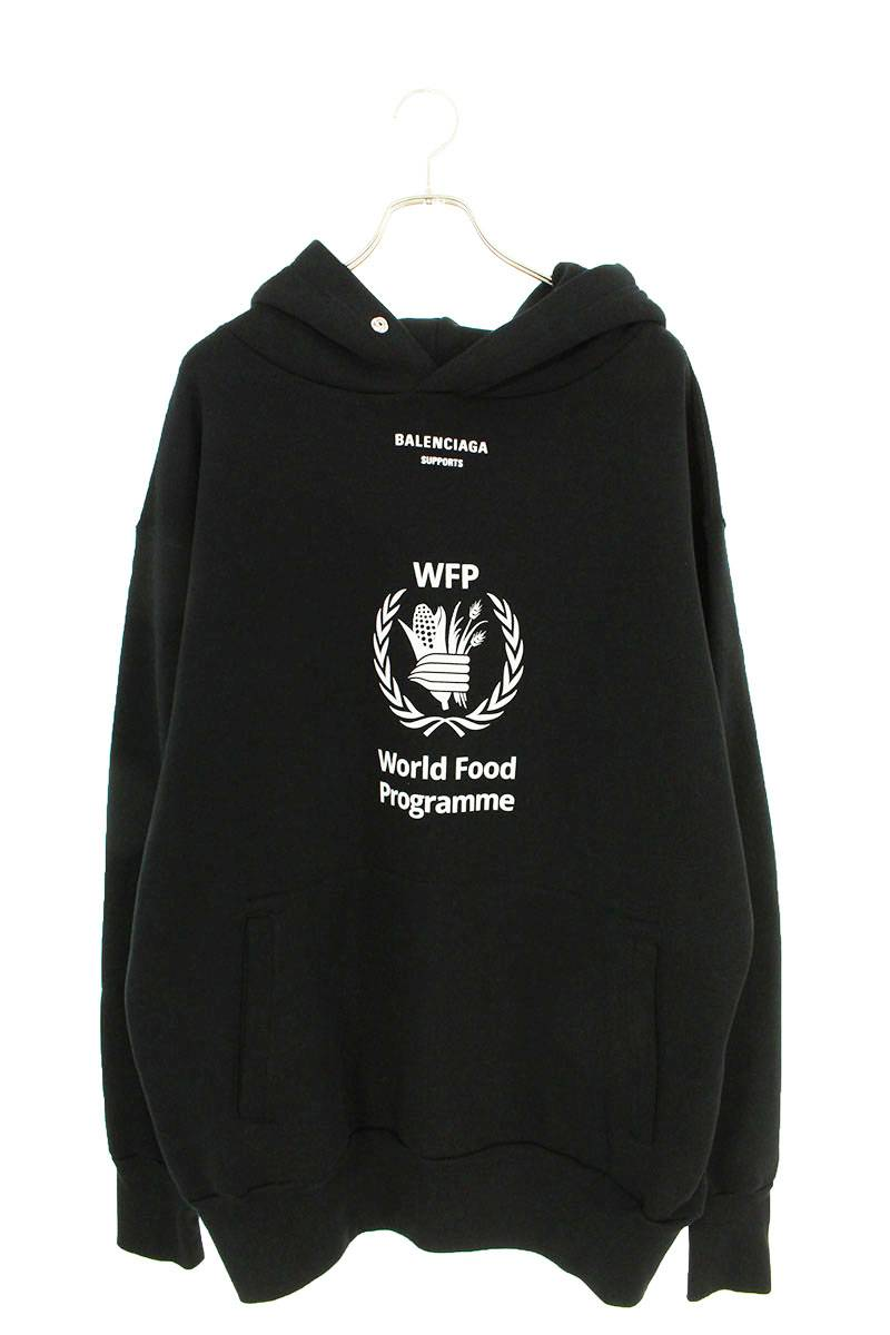 WFPプリントオーバーサイズプルオーバーパーカー