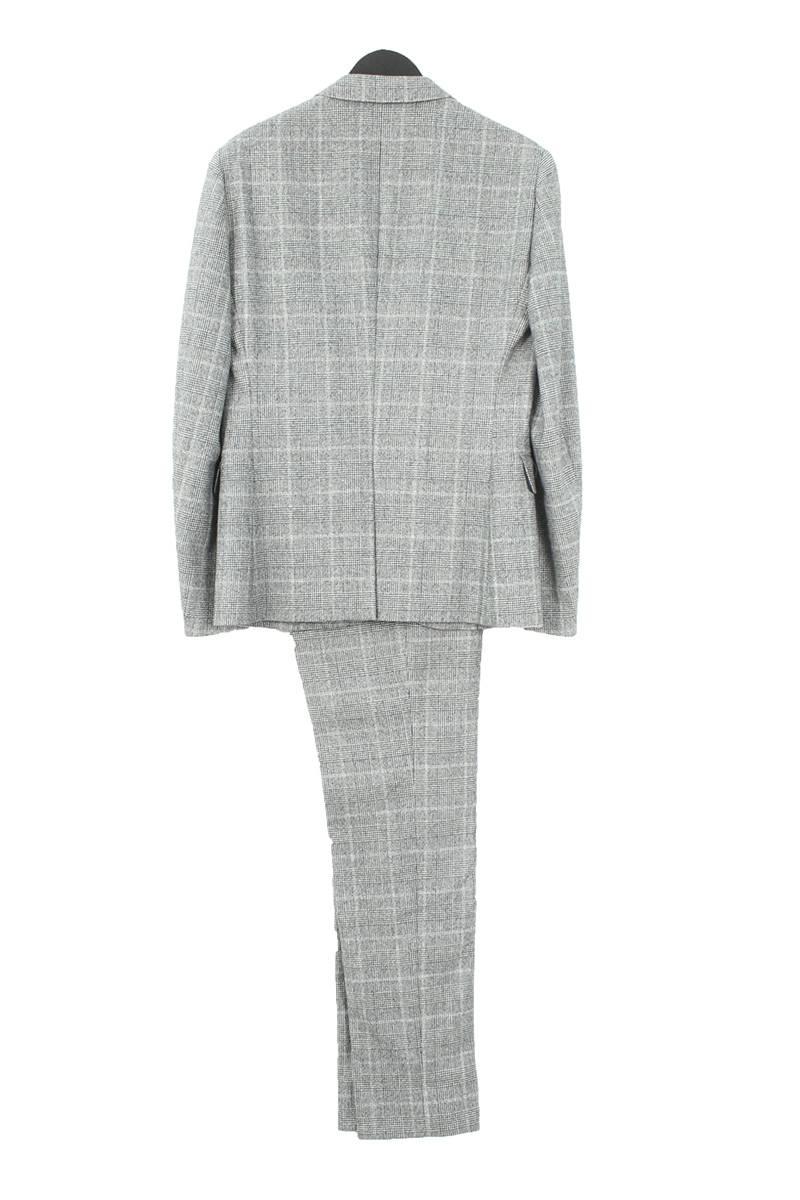 グレンチェック2Bジャケットセットアップスーツ