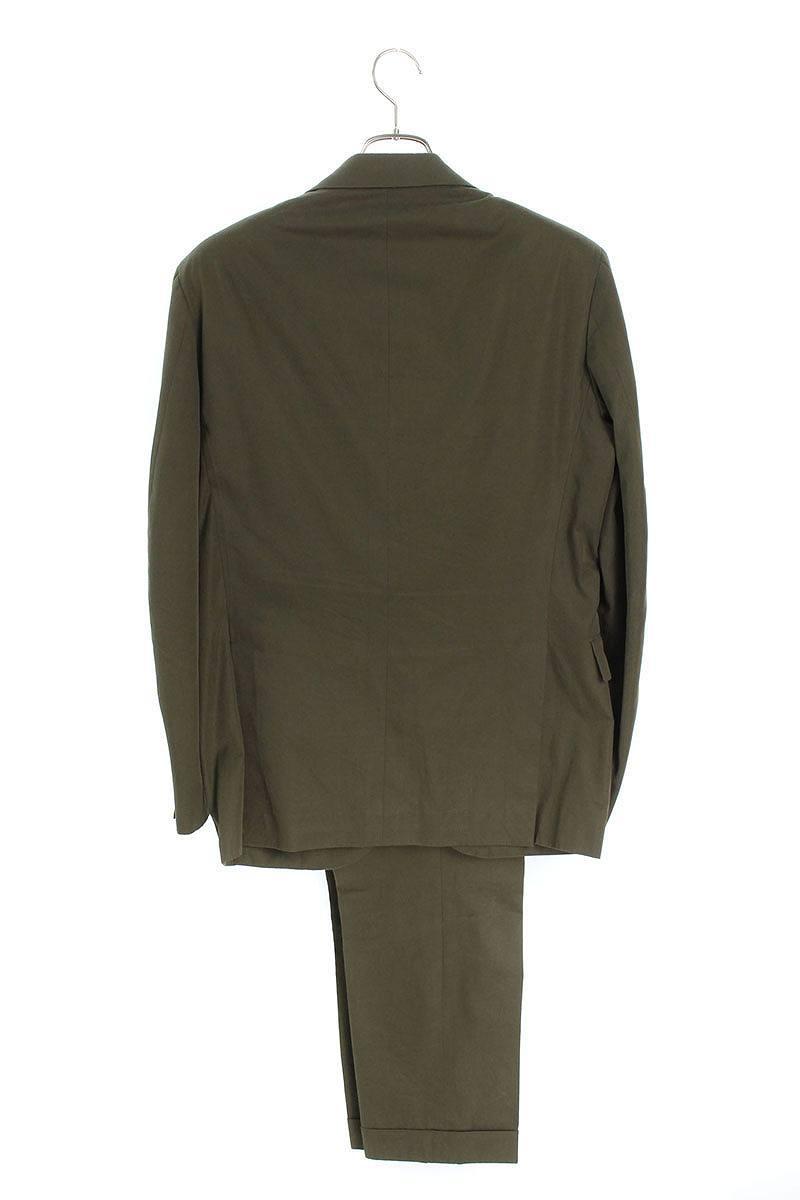 コットンツイル2Bジャケットスーツ