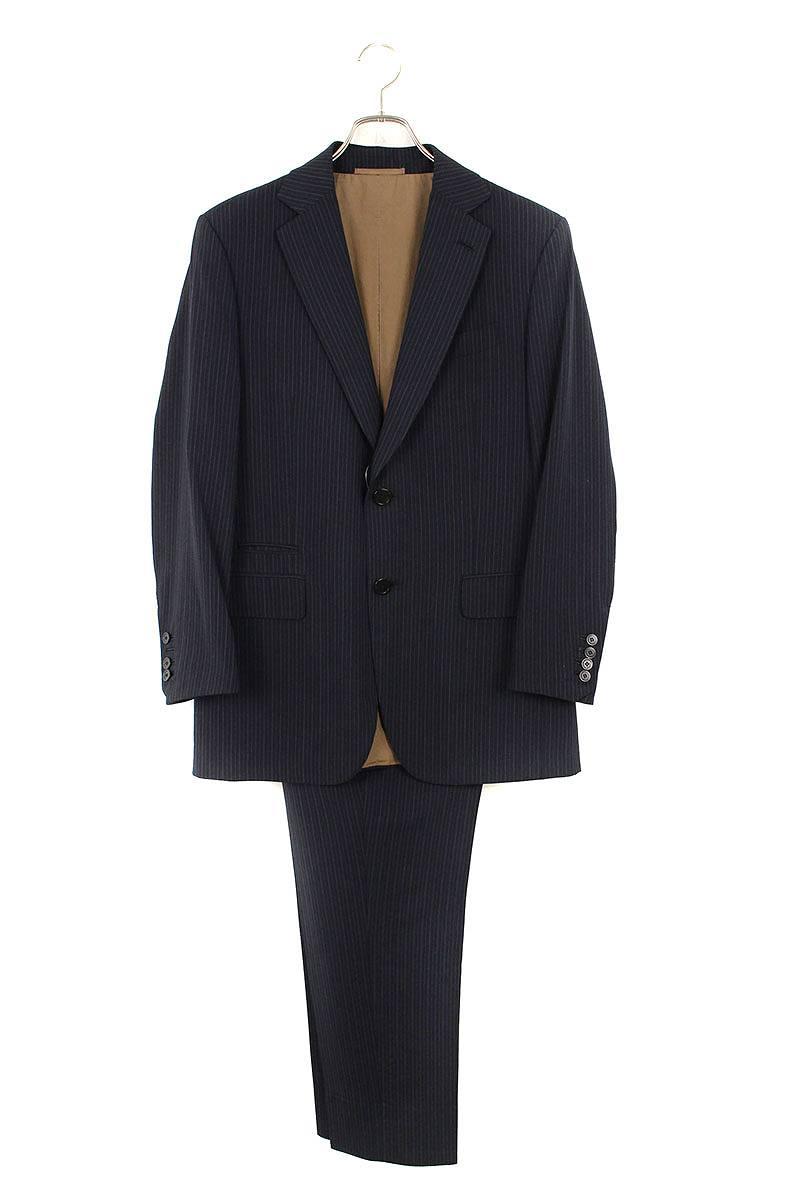 ストライプウール2Bジャケットスーツ