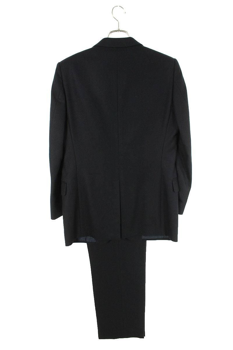 ウールノッチドラペル2Bジャケットスーツ