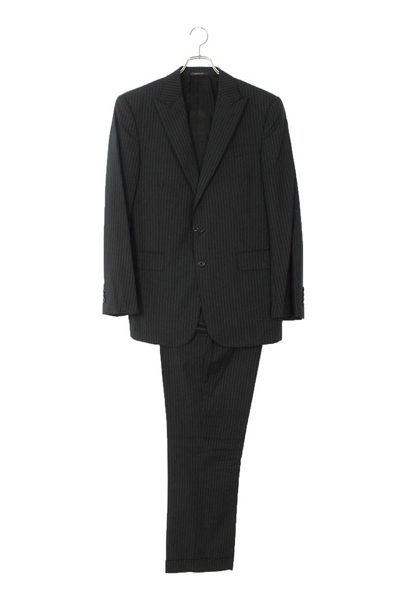 ストライプテーラードジャケットスーツ