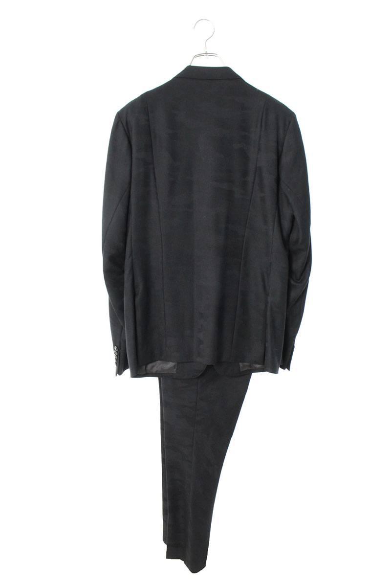 カモフラ2Bジャケットセットアップスーツ