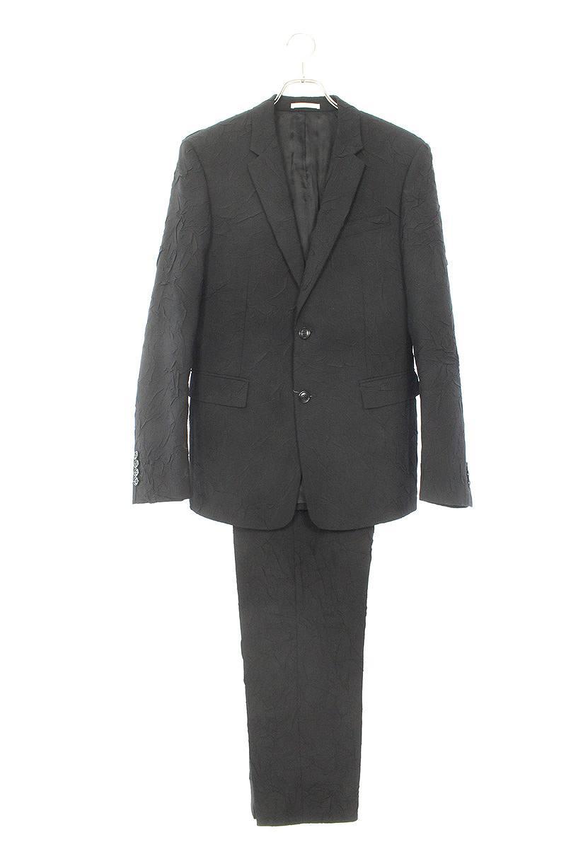 皺加工2Bスーツ