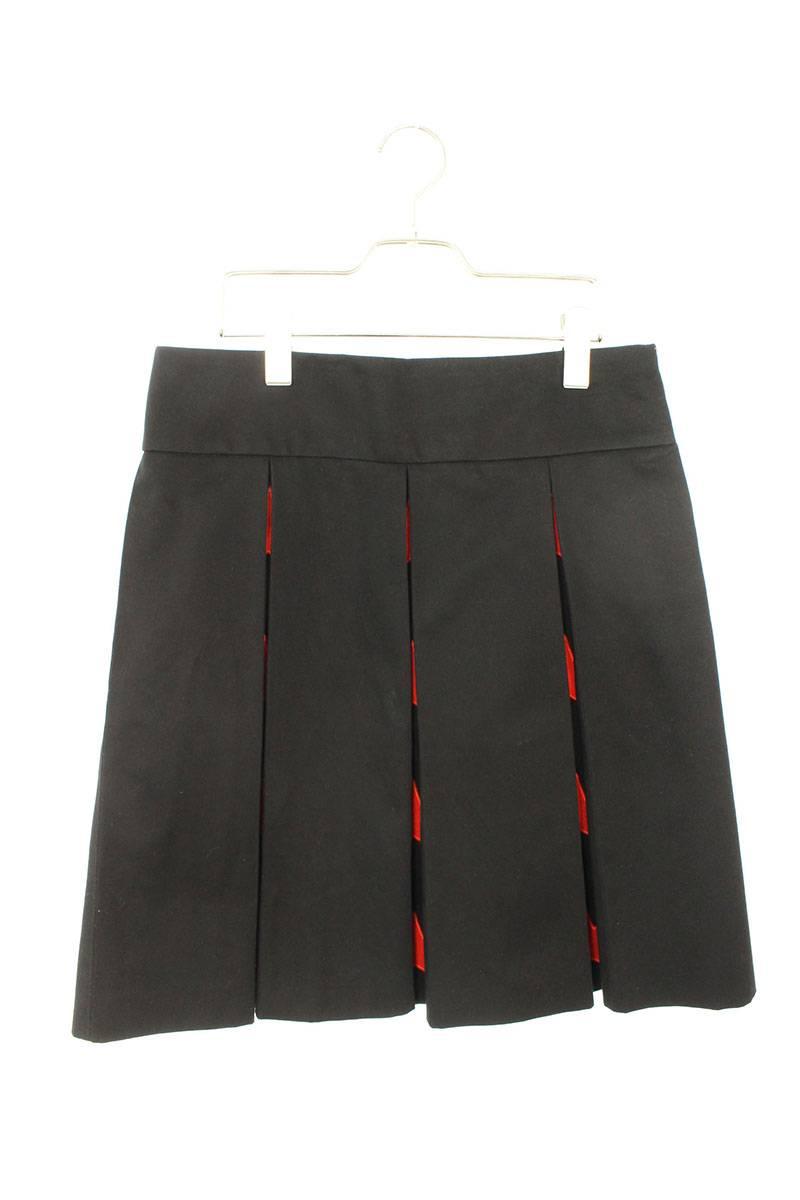 スター刺繍プリーツスカート