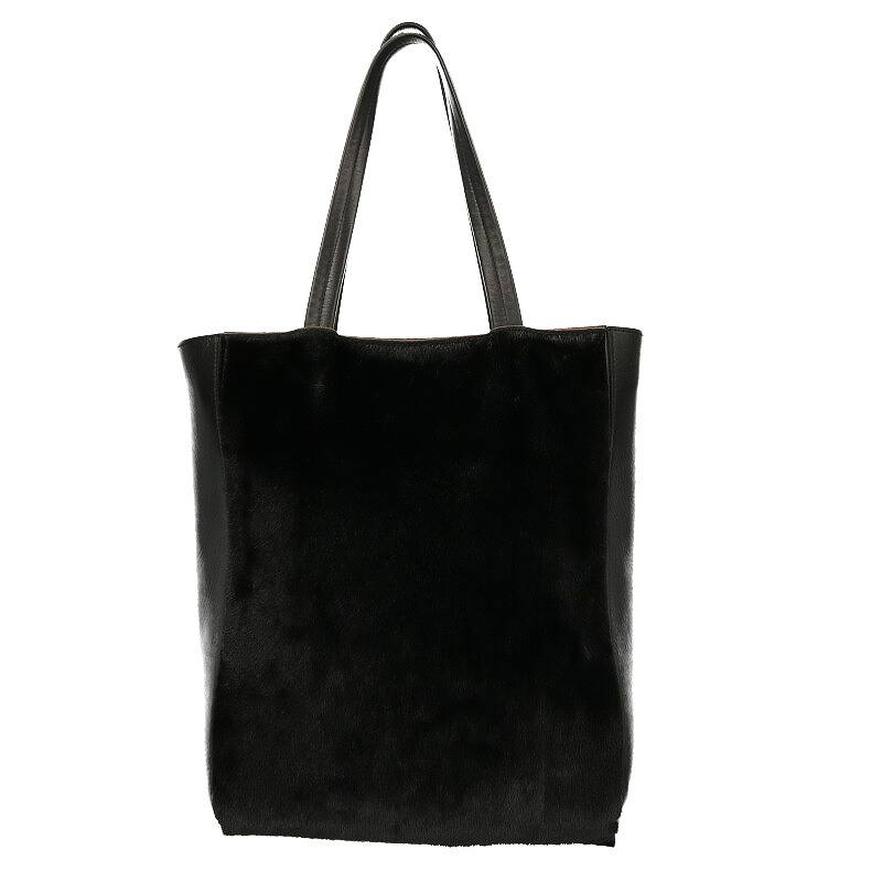 ハラコデザインレザートートバッグ
