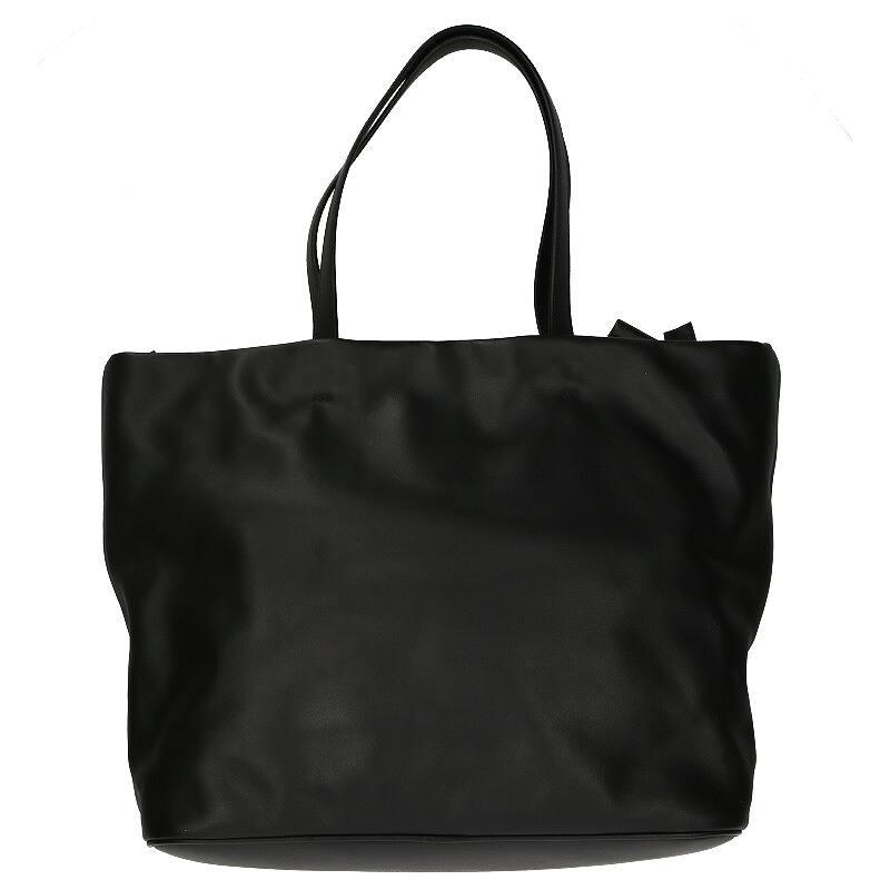 ロゴプレートトートバッグ