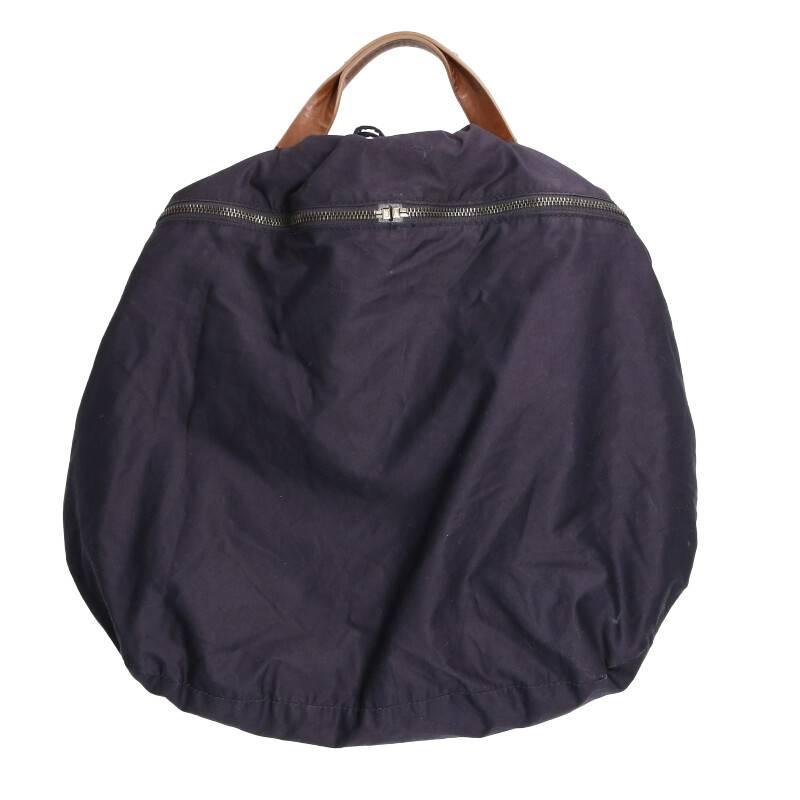 ジップデザイン巾着ハンドバッグ