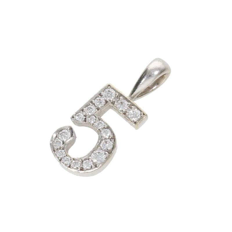 ダイヤ装飾チャーネックレストップ