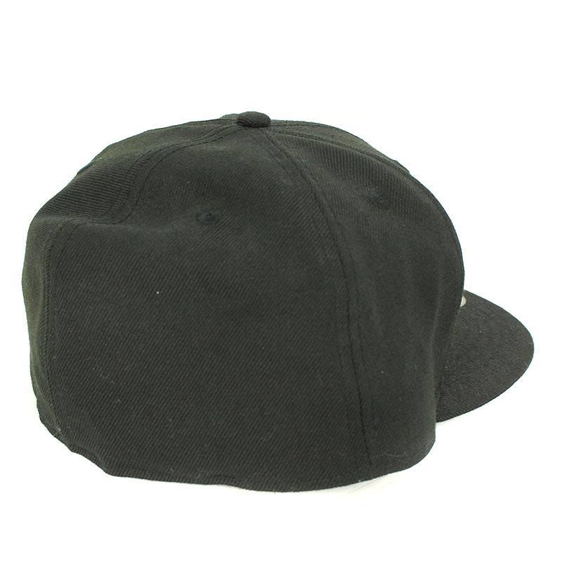 シグネチャー刺繍スカルローズベースボールキャップ帽子