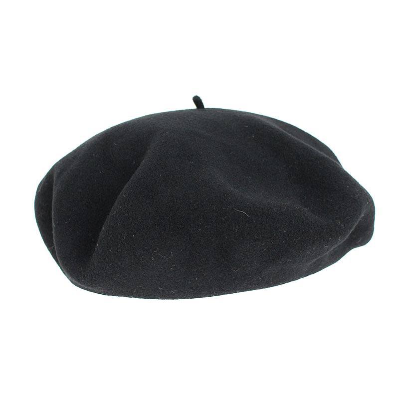 ウールフェルトベレー帽