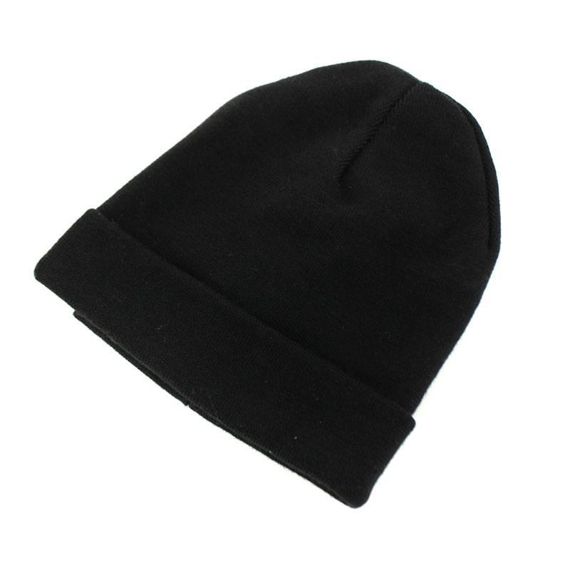 サイドロゴウールビーニーニット帽