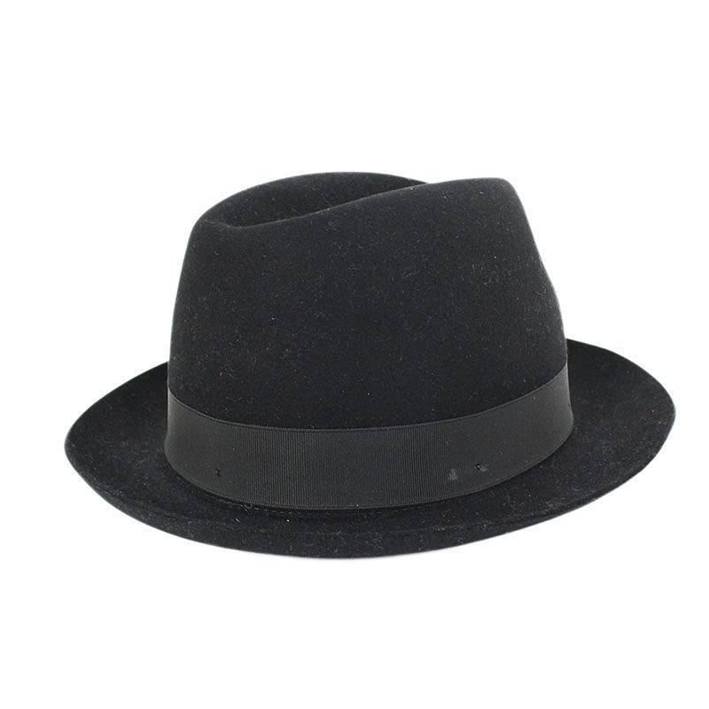 ラビットファーリボン帽子