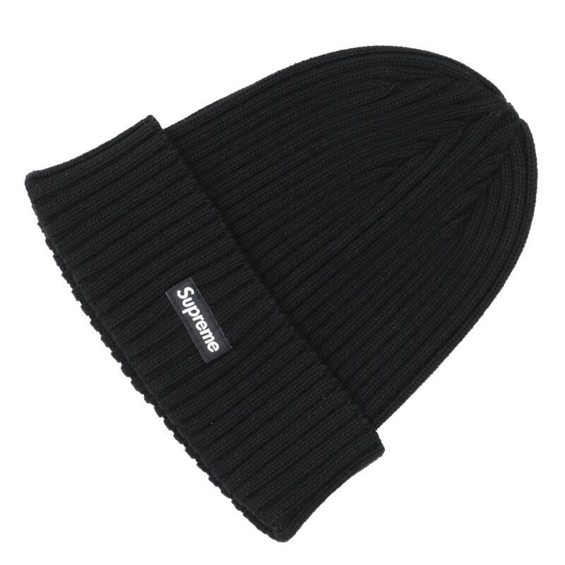 ミニボックスロゴビーニーニット帽