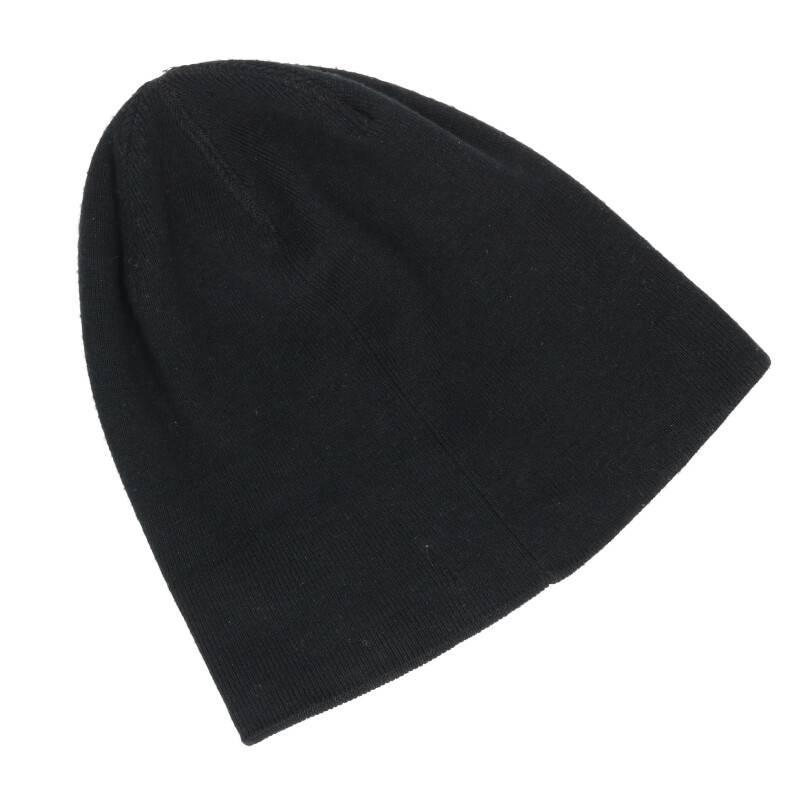 ロゴ刺繍ニット帽
