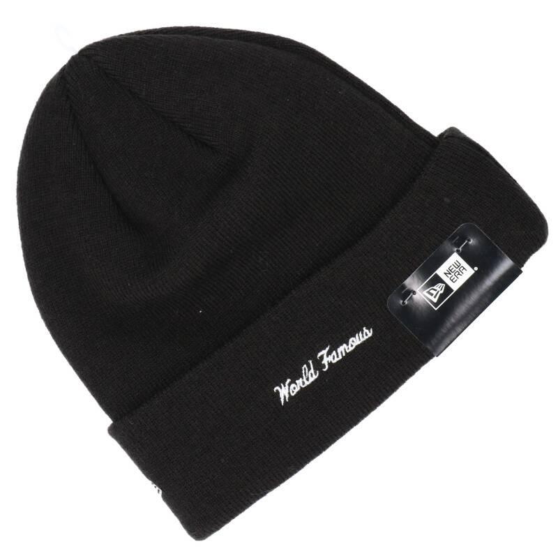 バンダナボックスロゴニット帽子