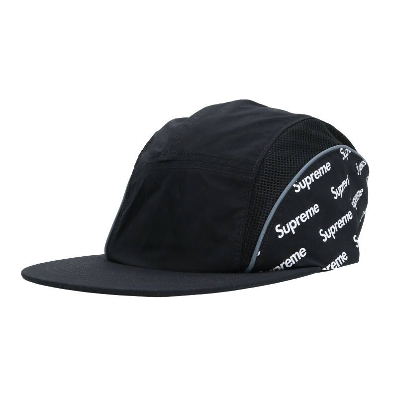 ダイアゴナルロゴサイドパネルキャンプキャップ帽子