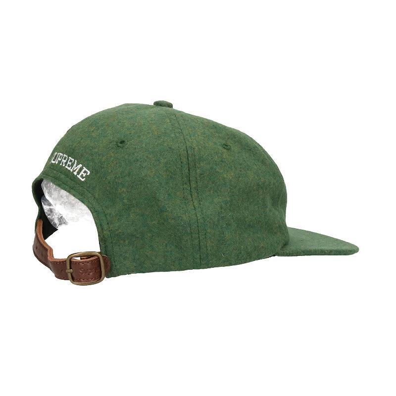 ウールSロゴ6パネルキャップ帽子