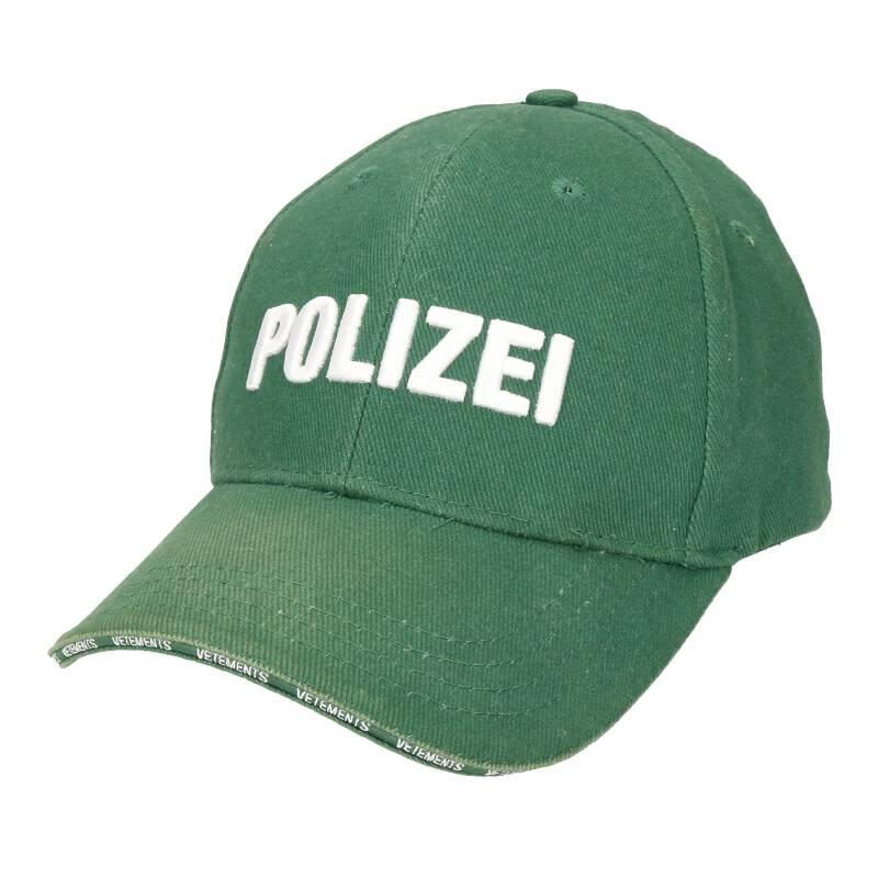 POLIZEI刺繍キャップ