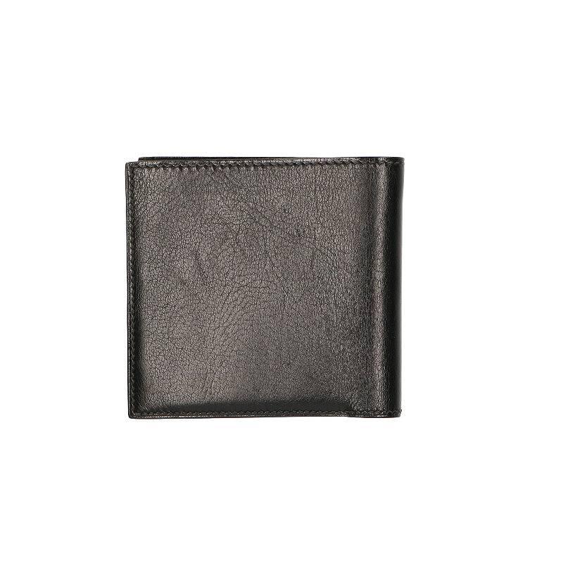 □F刻印二つ折り札入れ財布