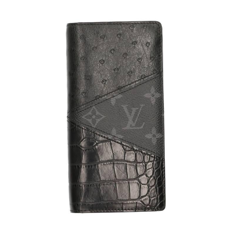 オーストリッチクロコモノグラムマルチ財布
