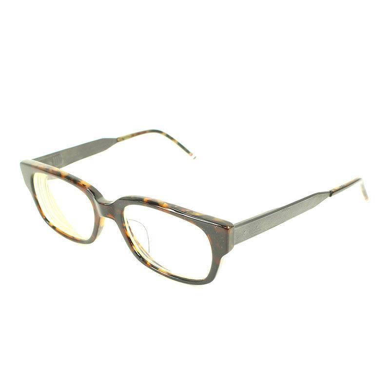 べっ甲調ウェリントン眼鏡