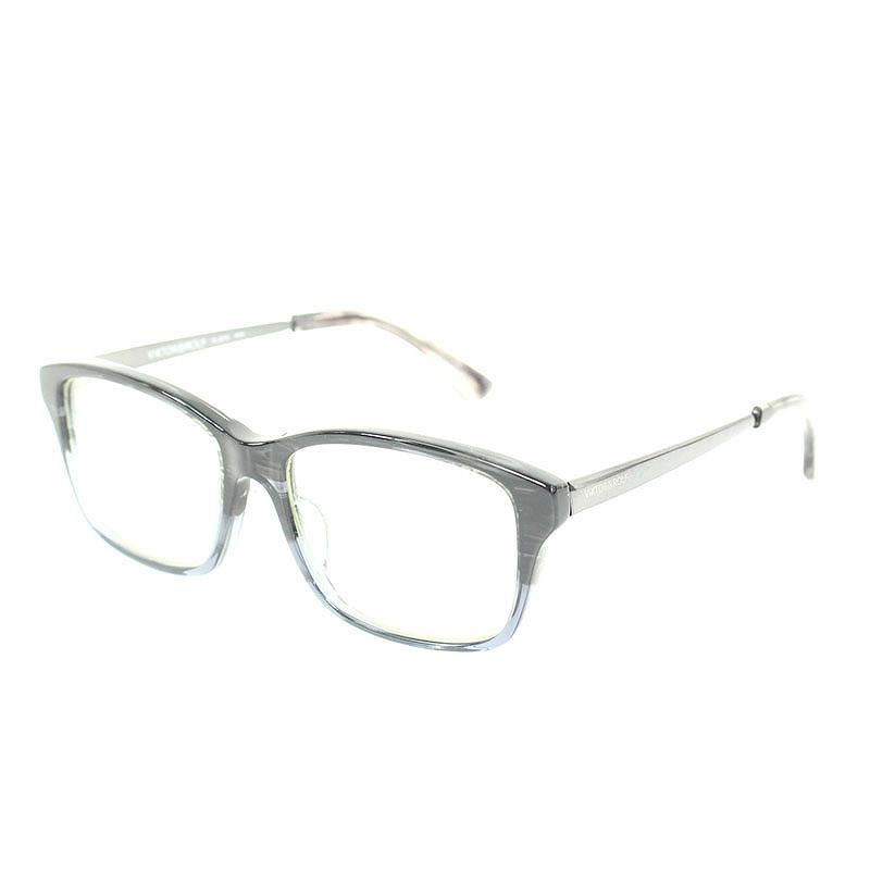 サイドロゴグラデーションフレーム眼鏡