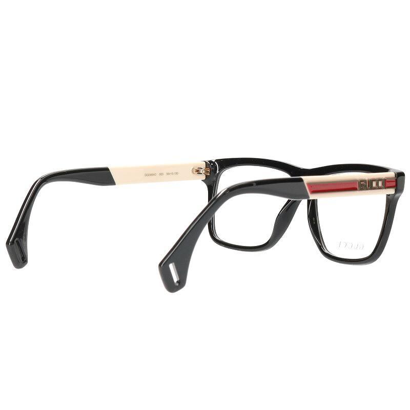 サイドプレートロゴ眼鏡