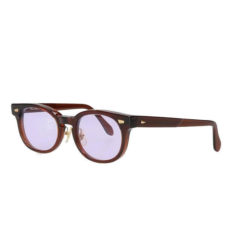 ボストンラウンドフレーム眼鏡
