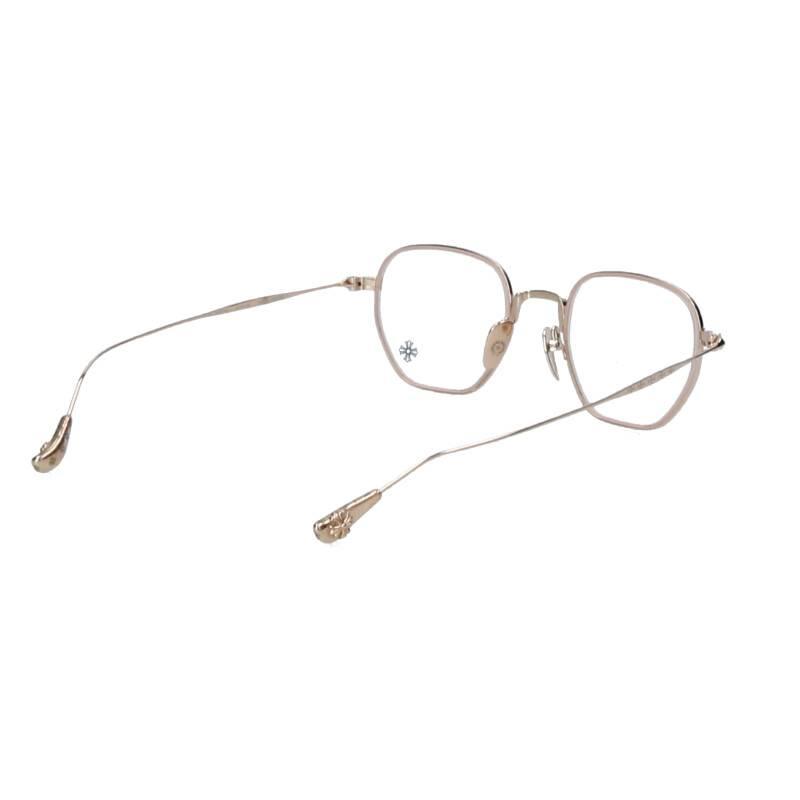 CHプラステンプルメタルフレーム眼鏡