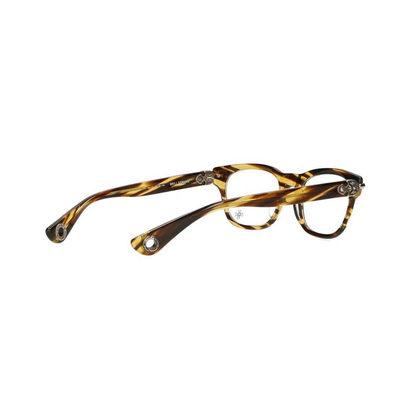CHプラスグロメット付きウェリントン眼鏡