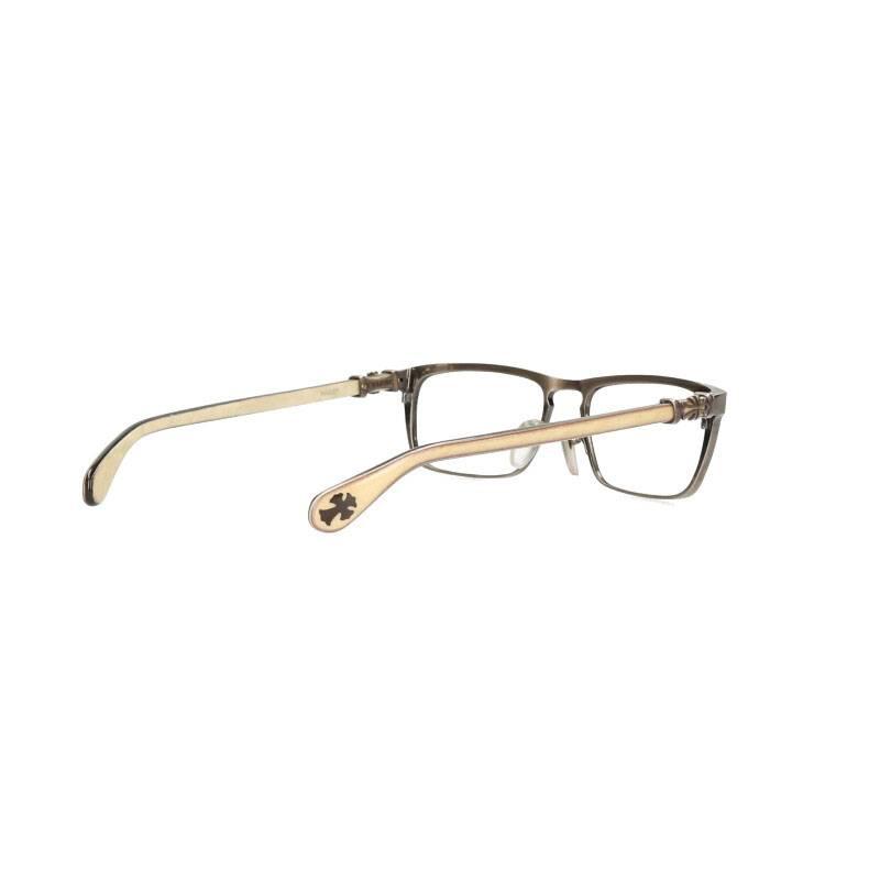 CHクロステンプルスクエア型眼鏡