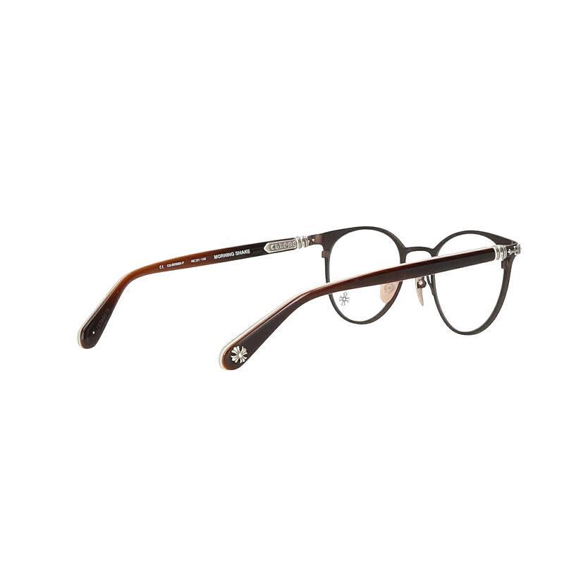 ダブルフローラルラウンドアイウェア眼鏡