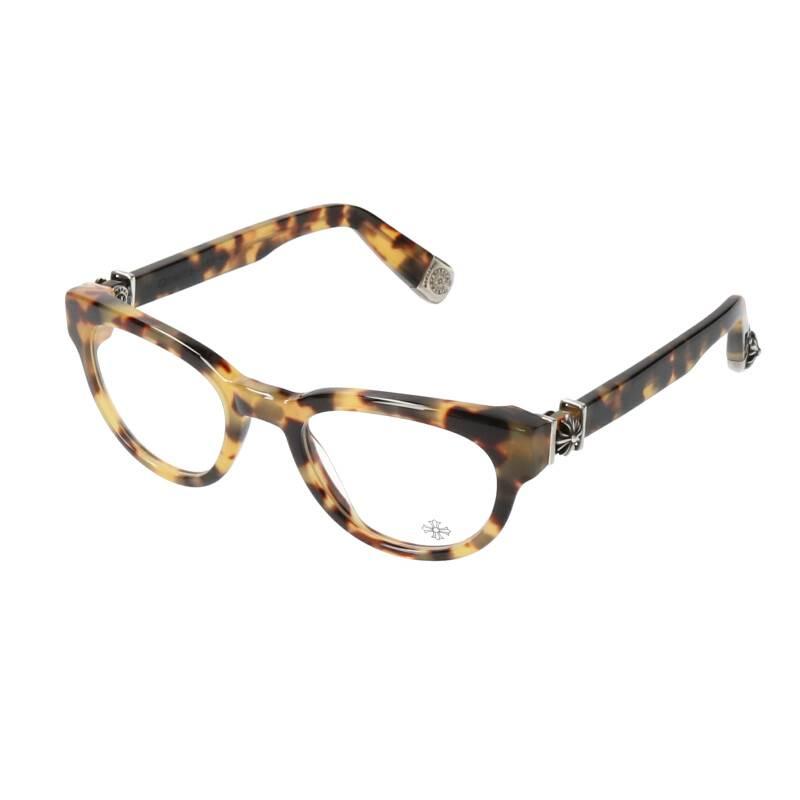 CHプラス鼈甲柄ラウンド眼鏡