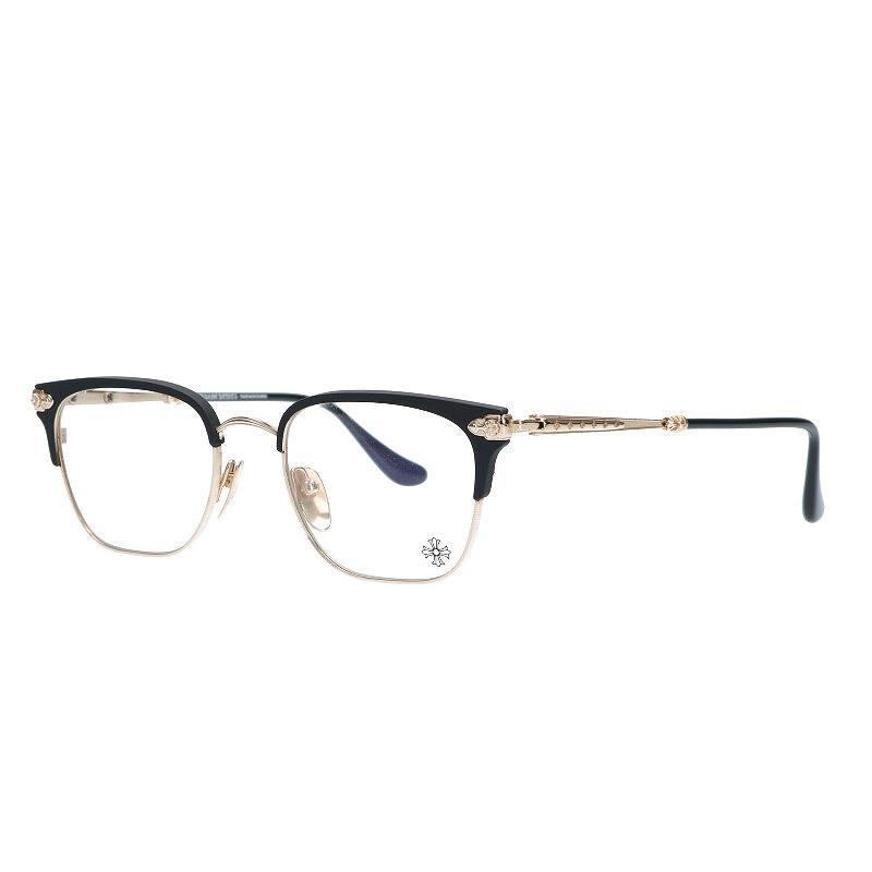 CHプラステンプルハーフリム眼鏡