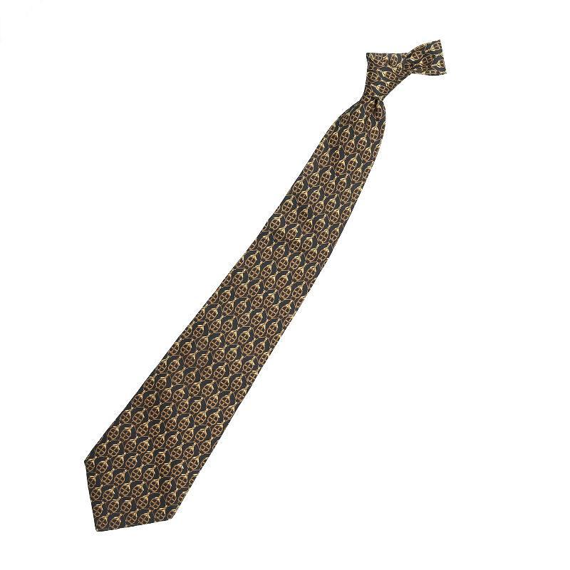 シルク総柄ネクタイ