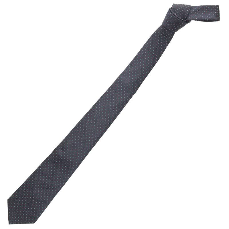 小紋柄シルクネクタイ