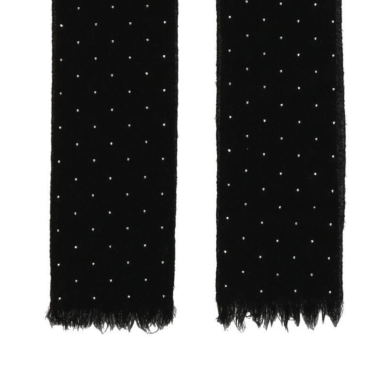 メタル装飾ネクタイ
