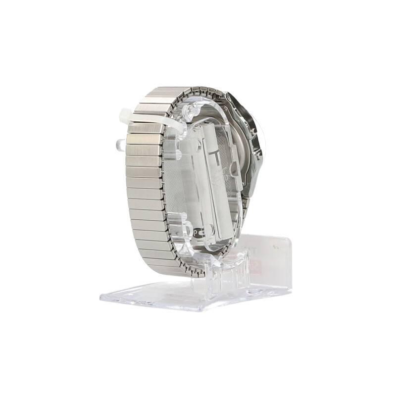 ボックスロゴデジタル腕時計