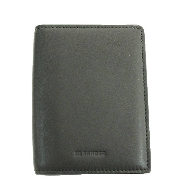 ロゴエンボスレザーカードケース
