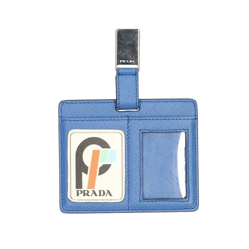 ネームプレート型サフィアーノレザーカードケース