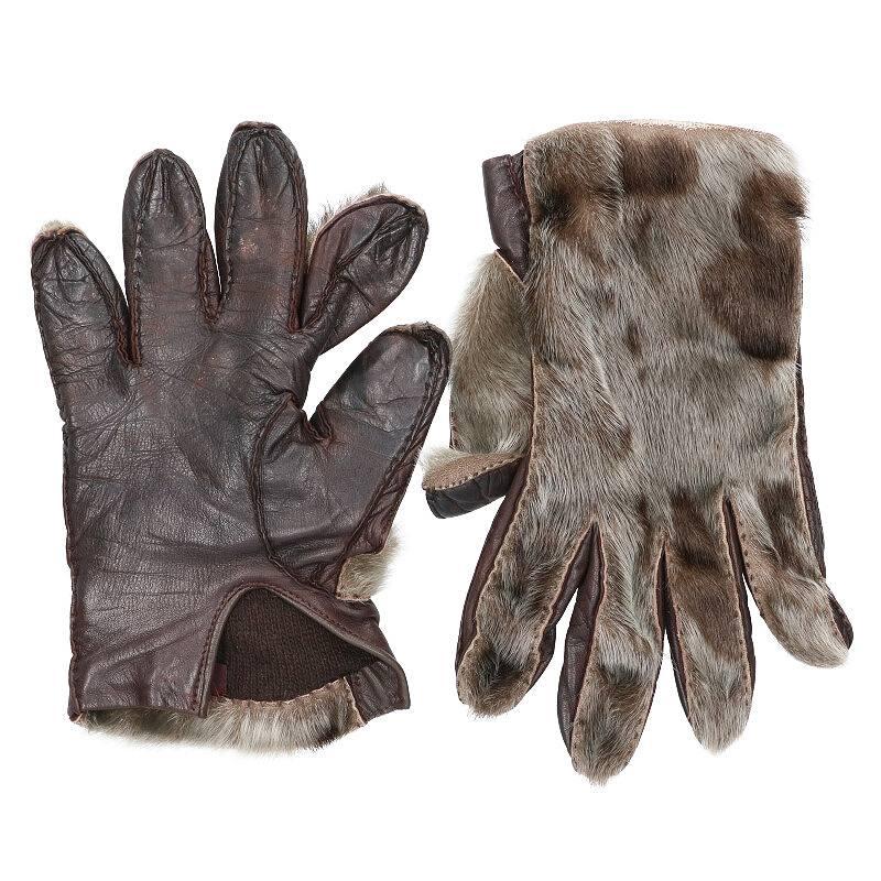 ハラコレザー手袋
