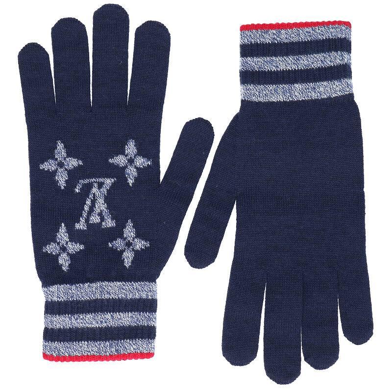 モノグラムストライプ手袋
