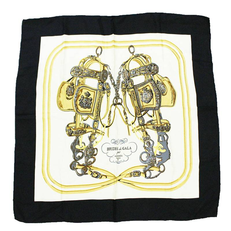 BRIDES de GALA 式典用の馬勒 スカーフ