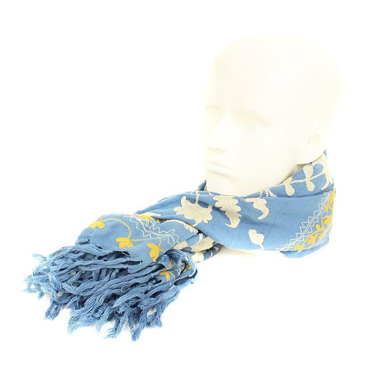 総刺繍アフガンストールスカーフ