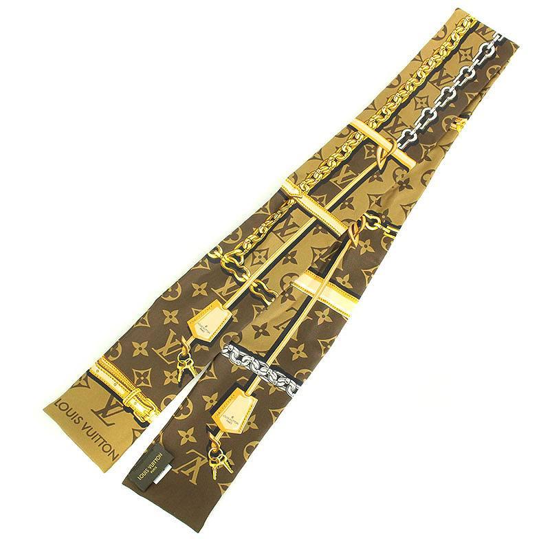 バンドーモノグラムコンフィデンシャルスカーフ