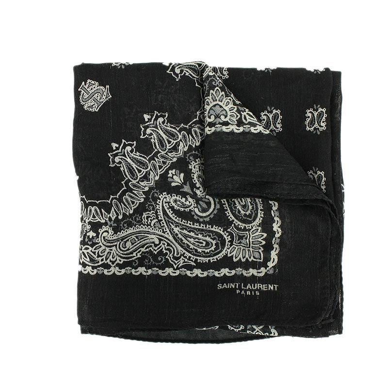 ペイズリーバンダナスカーフ