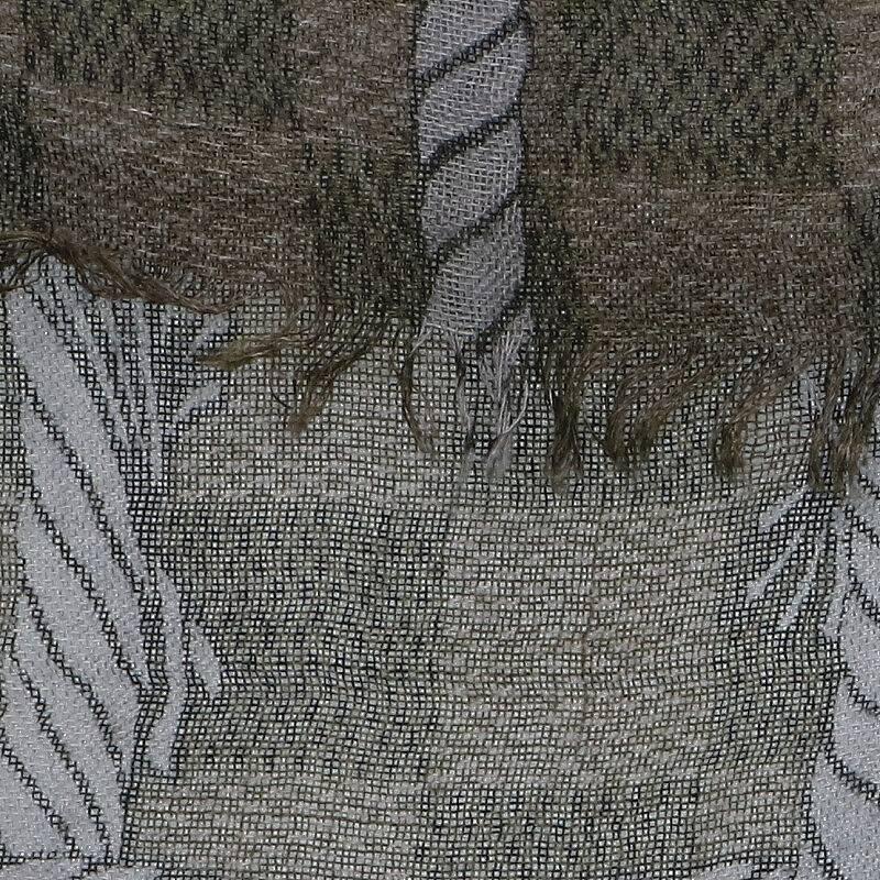 ロープチェックデザインスカーフ