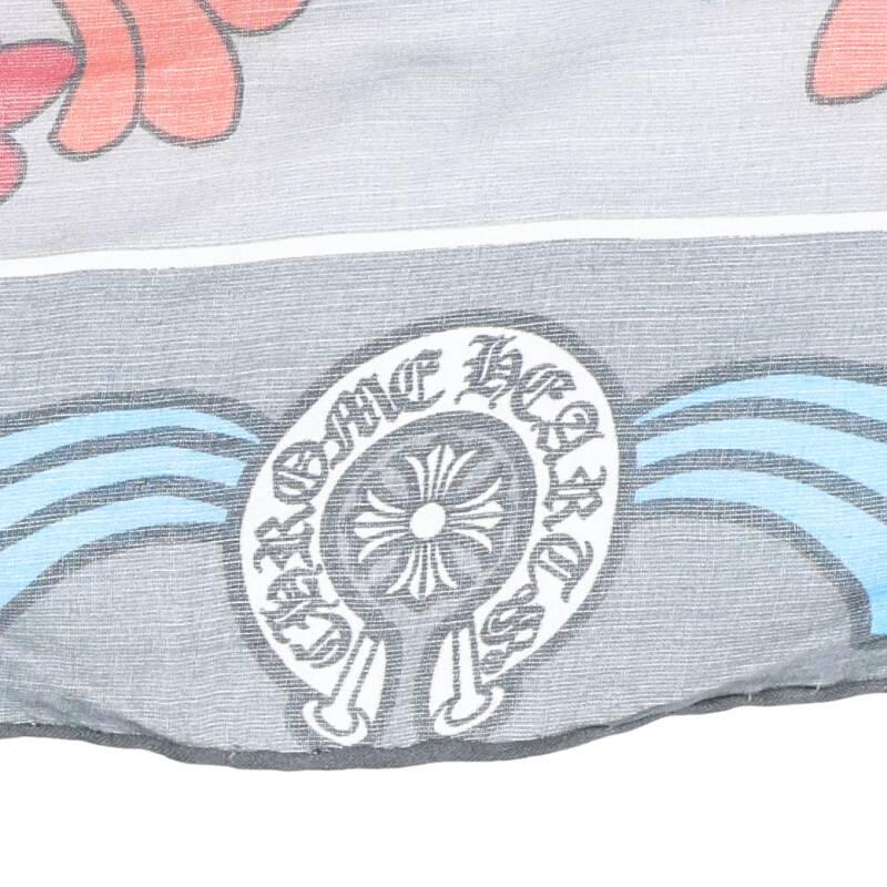 CHプラス総柄シルクスカーフ