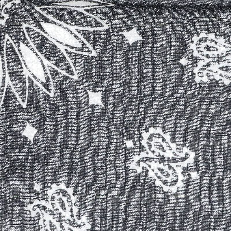 ペイズリープリントバンダナスカーフ